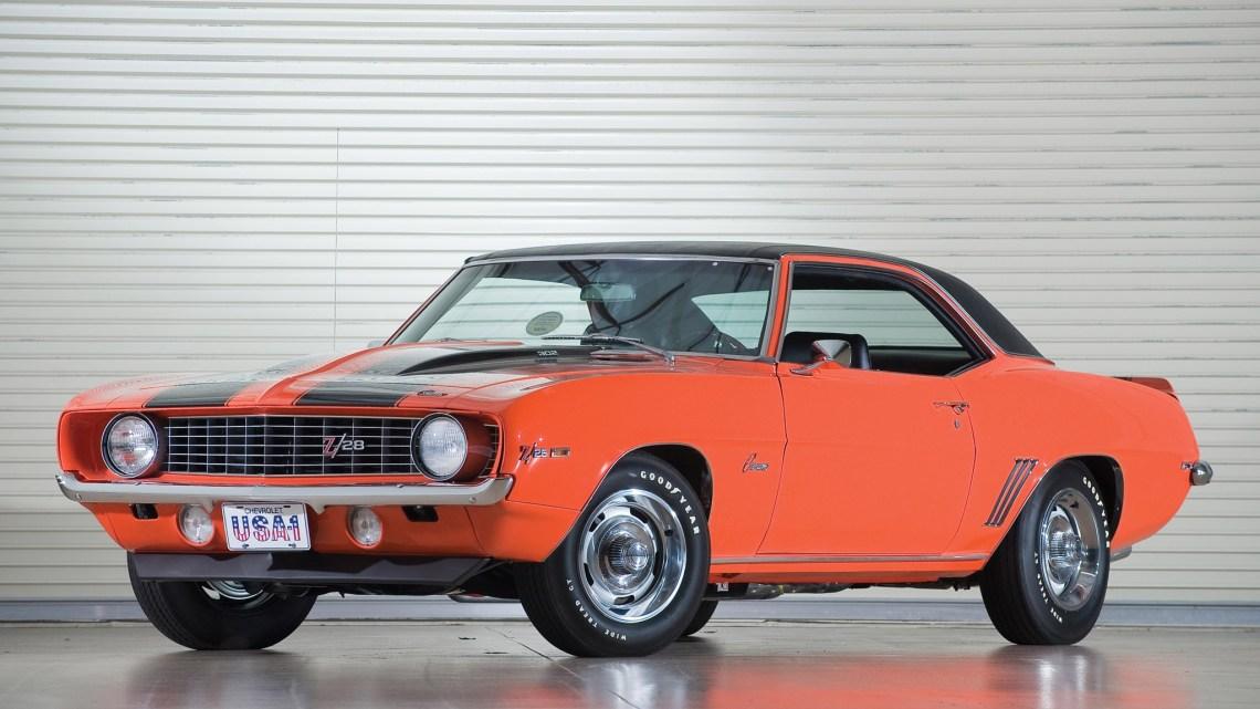 Chevrolet Camaro Z28 1969 créée pour courir en Trans-Am Series
