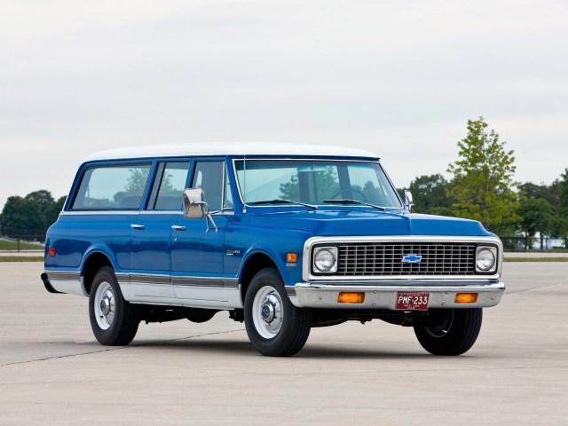 1972 Chevrolet C20 Suburban
