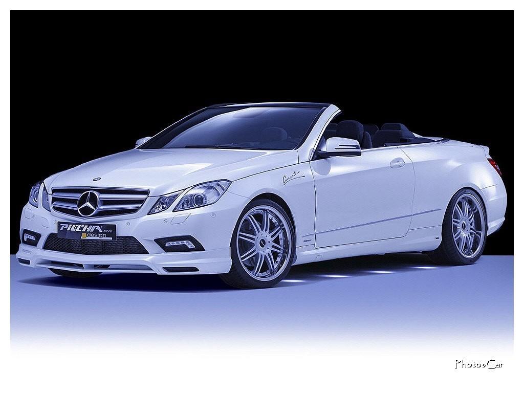 2010 Piecha Design : Mercedes E-Klasse Cabriolet