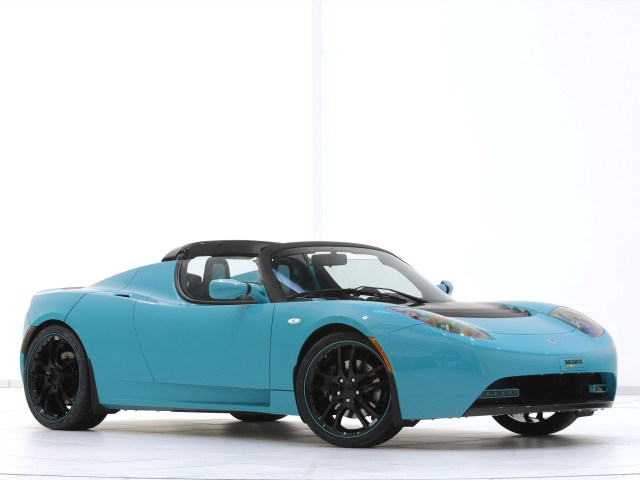 2010 Brabus Tesla Roadster Sport Green Package