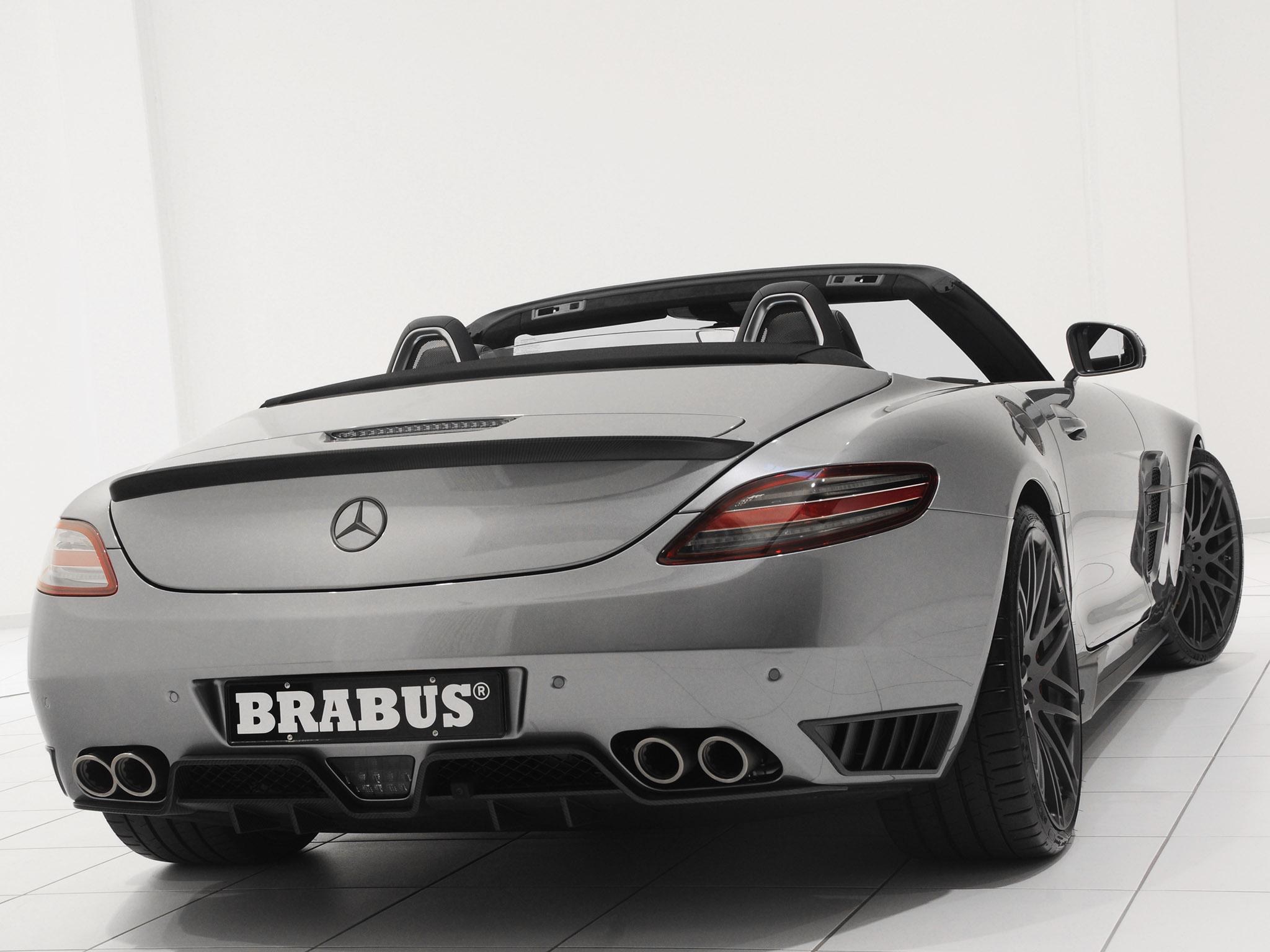 2011 Brabus AMG Mercedes SLS Roadster