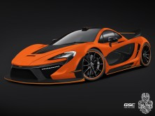 2014 GSC - Mclaren P1 Night Glow