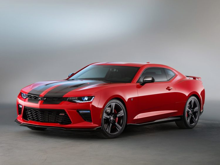 2015 Chevrolet Camaro SS Black Accent Package Concept