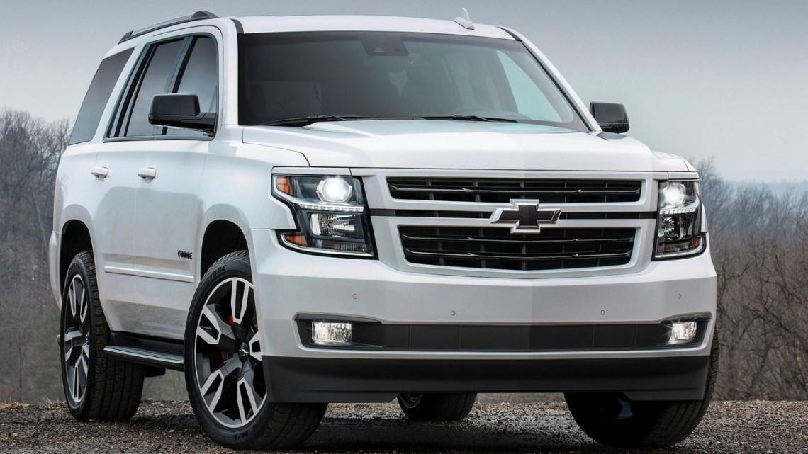 Chevrolet Tahoe RST 2018: Luxe et confort.
