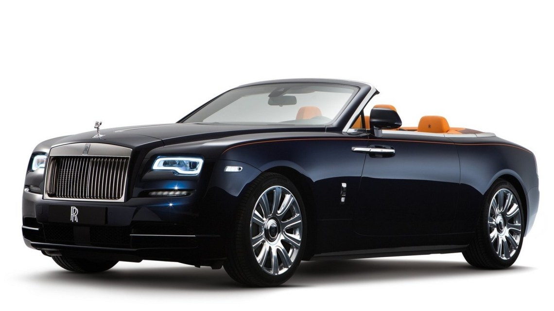 Rolls Royce Dawn 2017 : Le cabriolet de luxe – Rolls Royce Dawn Photos