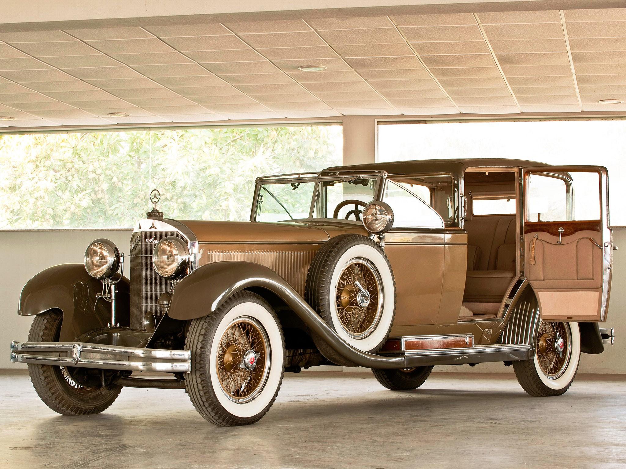 1929 Mercedes 630k by Castagna