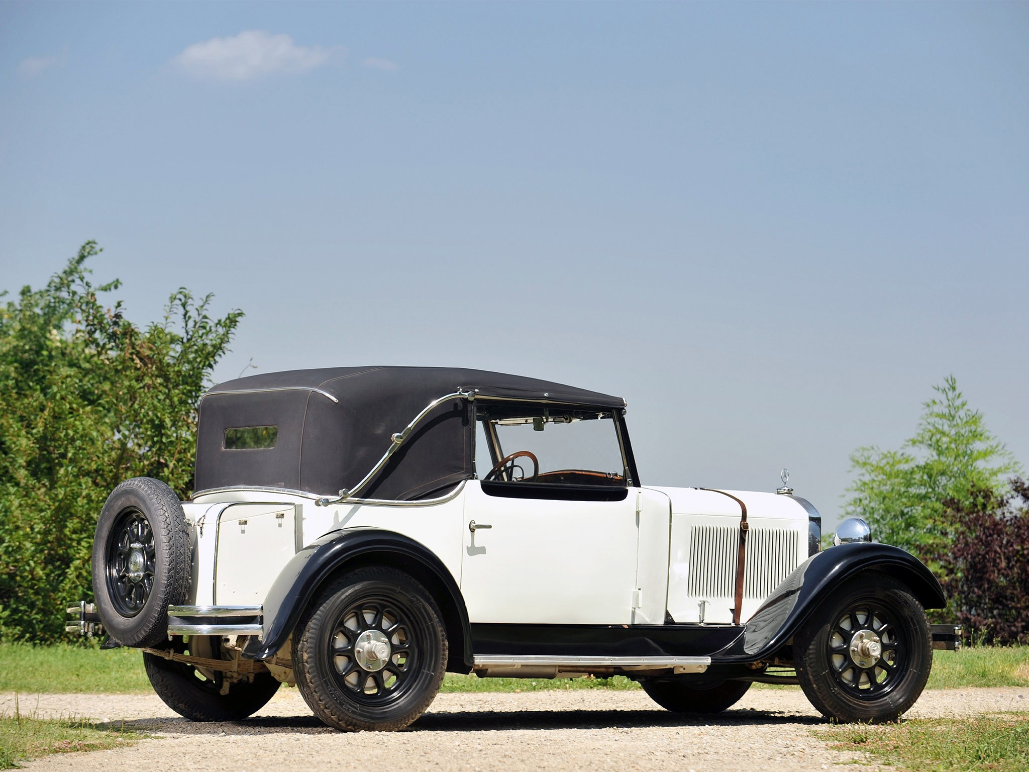 1931 Mercedes 200 SS Stuttgart Sports Roadster W21