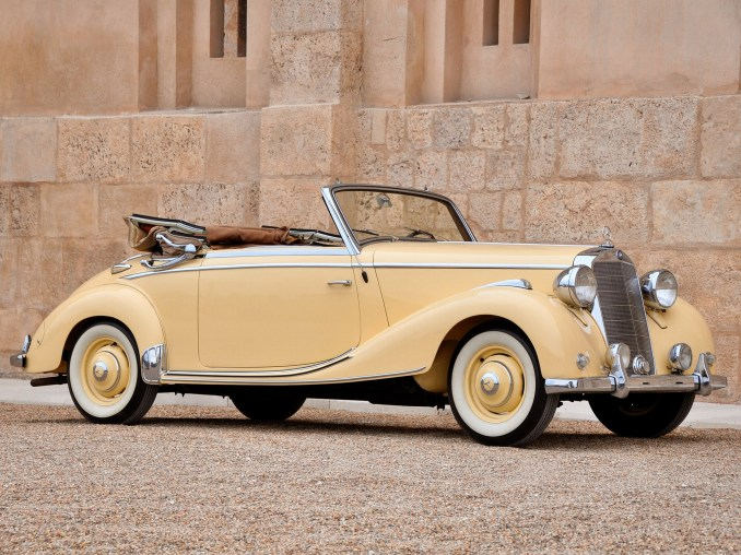1949 Mercedes 170S Cabriolet A