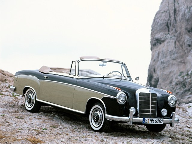1956 Mercedes S Cabriolet W180 128