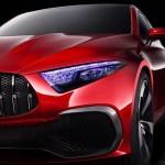 2017 Mercedes Benz A Sedan Concept