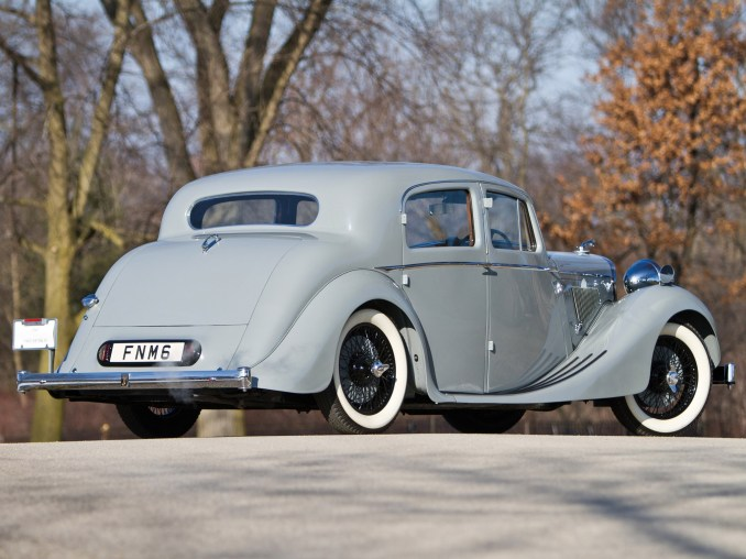 1947 Jaguar Mark IV Saloon
