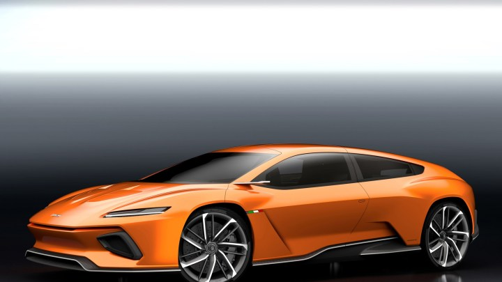Italdesign GTZero Concept Electrique: Son taux de CO2 est égal à zéro