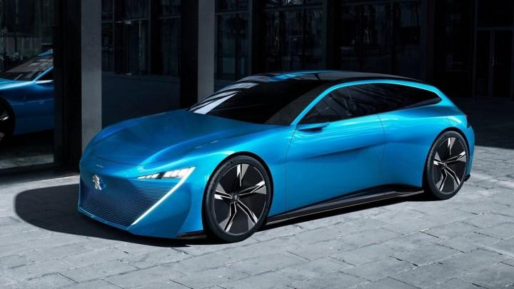Peugeot Instinct Concept 2017: Des lignes sportives et futuristes