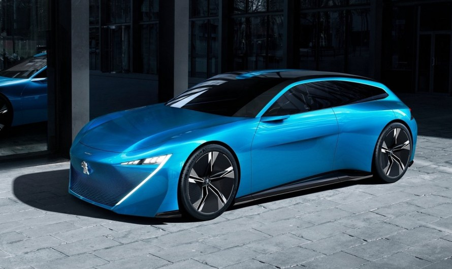 Peugeot Instinct Concept 2017 – L'hybride avec des lignes sportives et futuristes