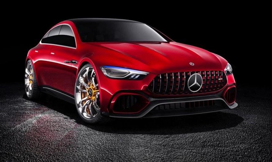 Mercedes AMG GT Concept 2017 – Elle comprend de nombreux éléments en fibre de carbone