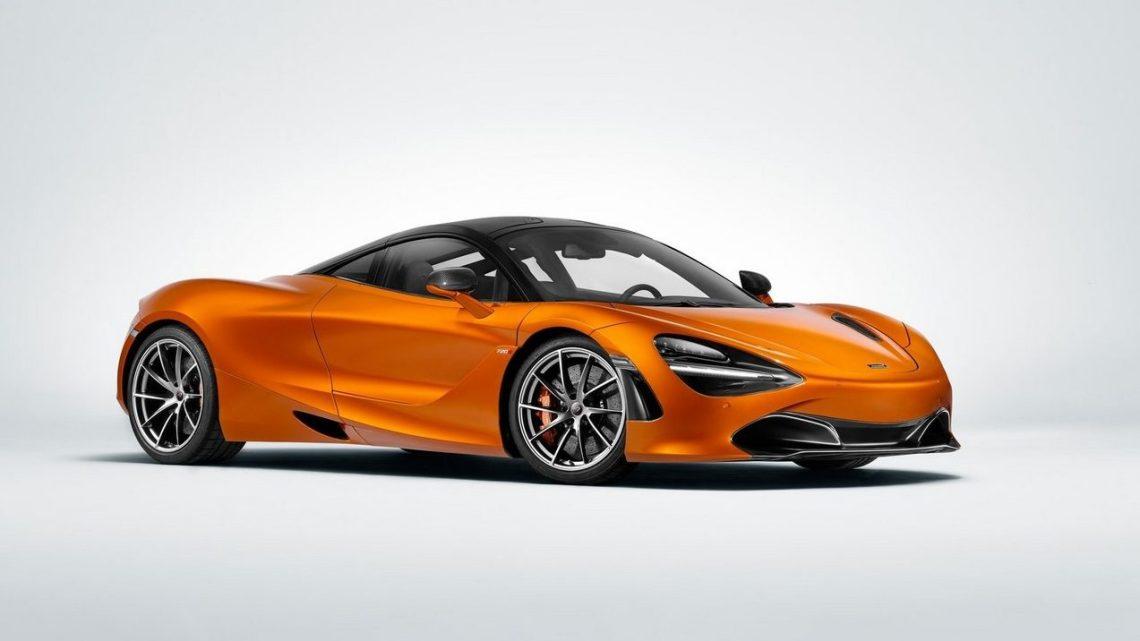 McLaren 720S 2018: châssis monocoque en fibre de carbone