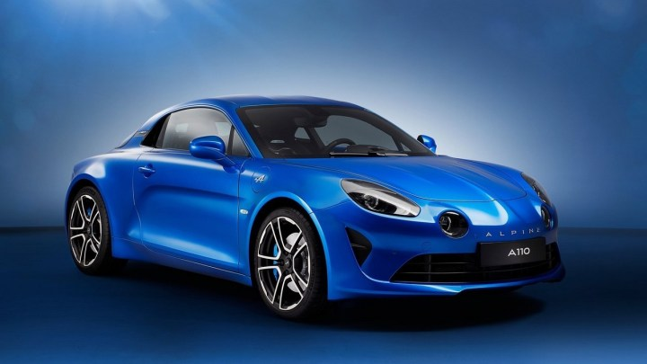 "Renault Alpine A110 2018: Photos officielles de la ""Roadster"" Renault"