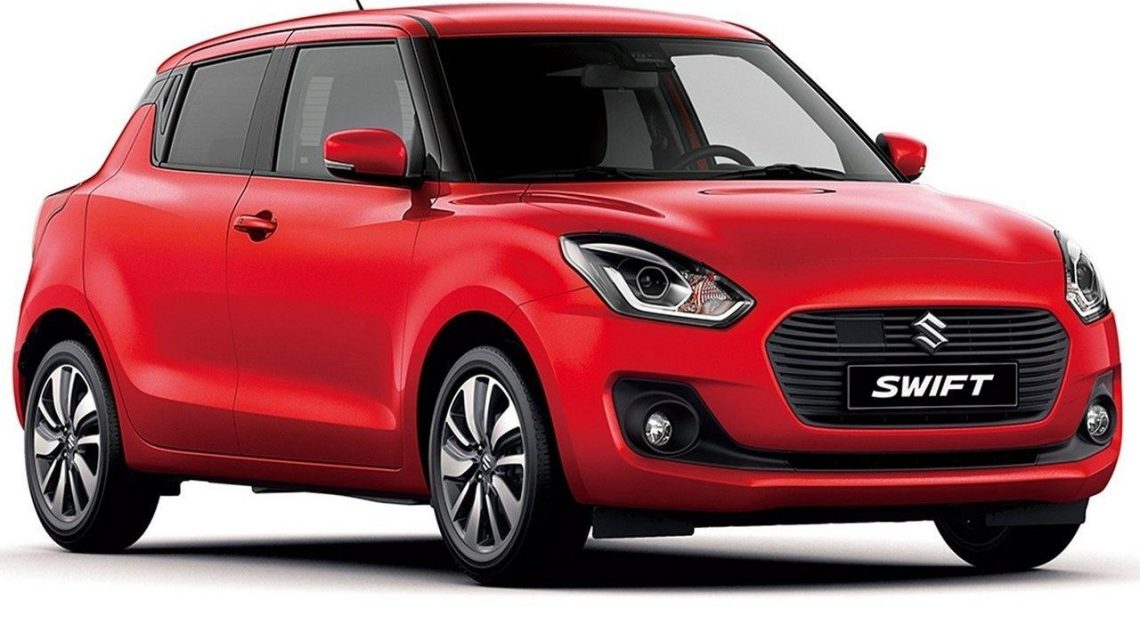 La Nouvelle Suzuki Swift 2018 en version 5 portes beaucoup plus légère