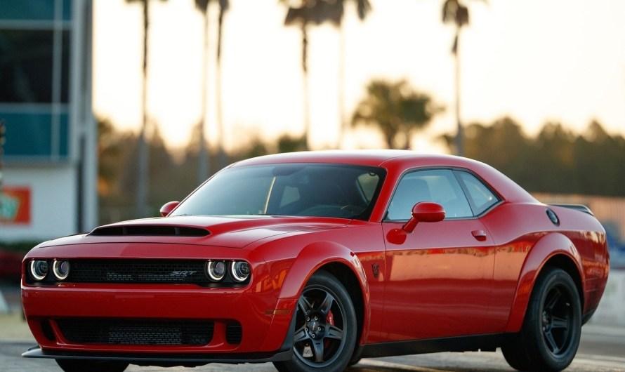 Dodge Challenger SRT Demon 2018 – Avec beaucoup de modifications