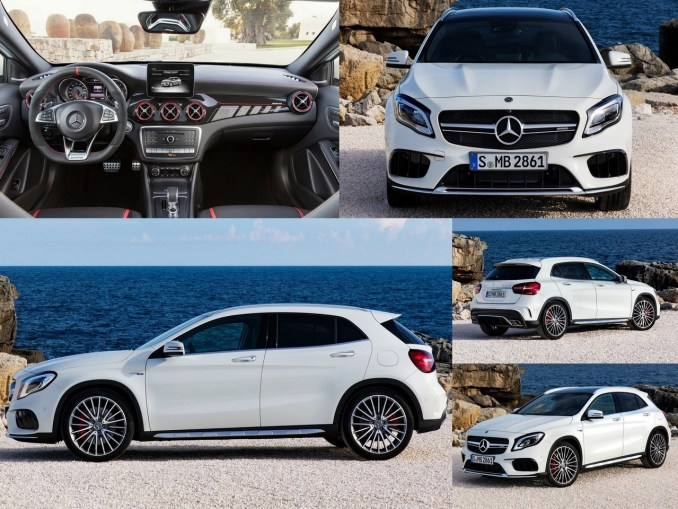 mercedes amg gla 45 2018 mercedes d voile le lifting du crossover. Black Bedroom Furniture Sets. Home Design Ideas