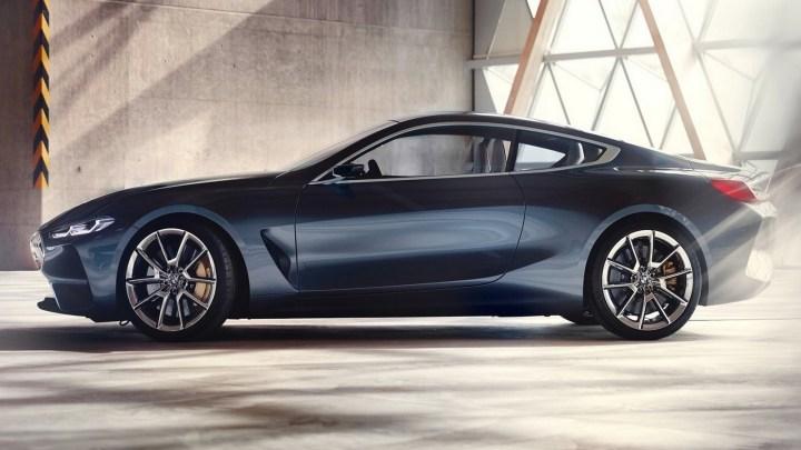 BMW Série 8 Concept 2017 exposé au Concours d'Elegance Villa d'Este