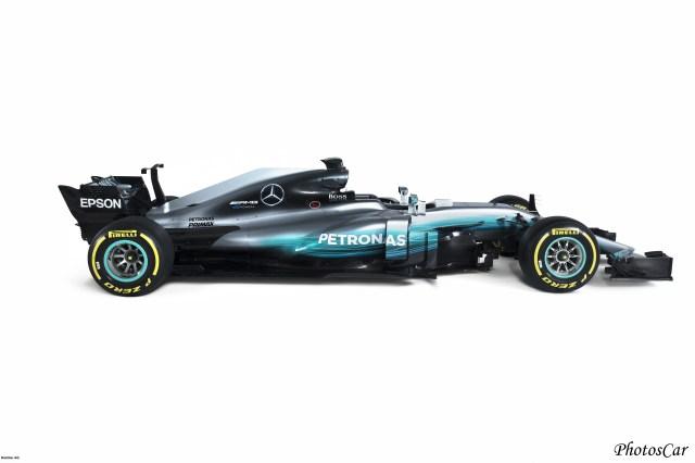 Mercedes W08 EQ Power+ 2017