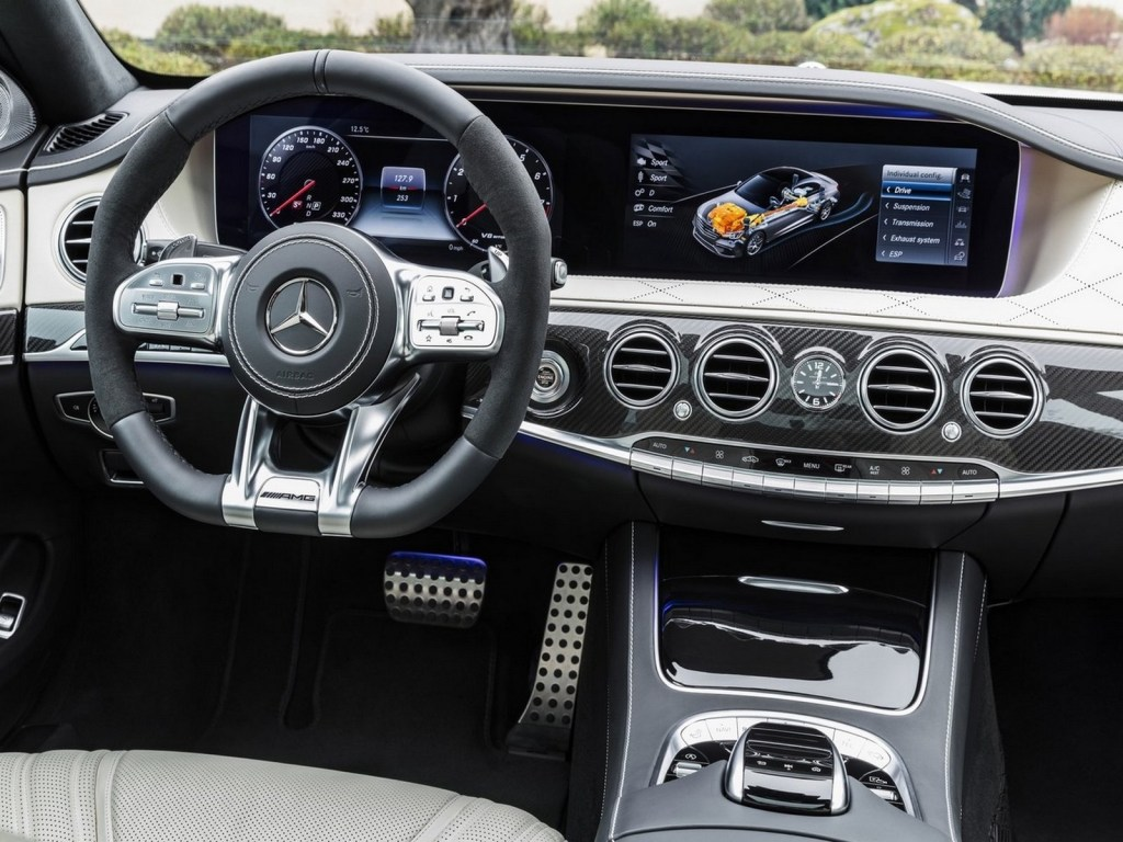 Mercedes Benz S63 AMG 2018