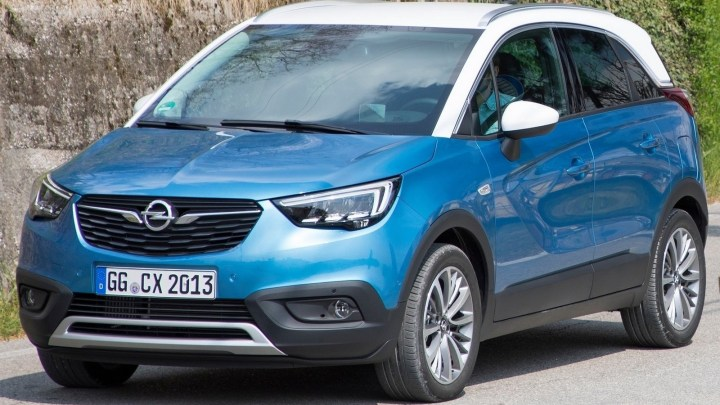 Opel Crossland X 2018 : Un monospace compact
