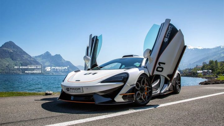 Prior Design – Mclaren 570s PD1 Aero Kit 2018