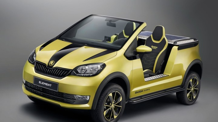 Skoda Element Concept 2017: La mécanique électrique Volkswagen Up