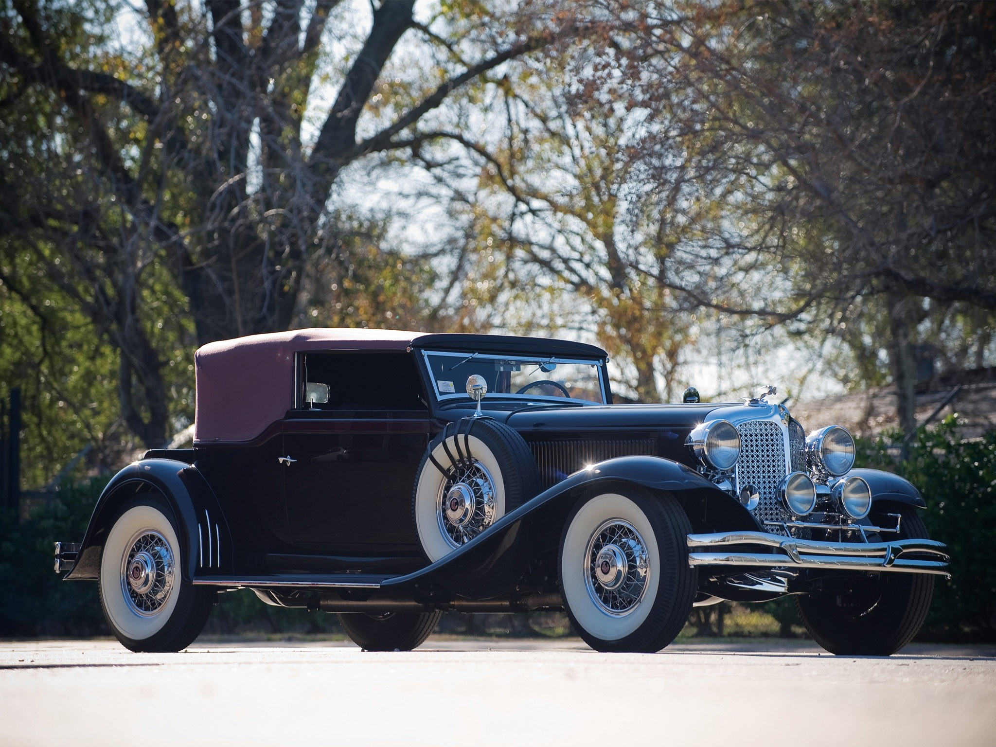 Chrysler CG Imperial Convertible Victoria by Waterhouse 1931