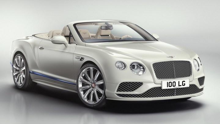 Bentley Continental GT Convertible Galene Edition – 4,0 l de 500 chevaux.