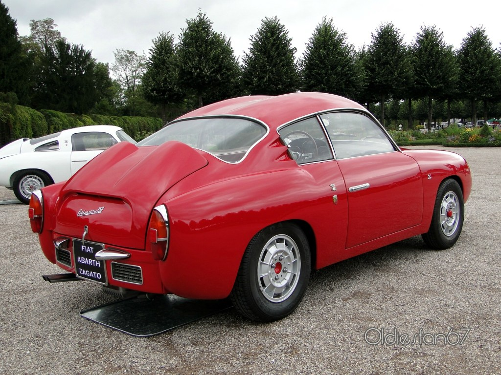 1958 Fiat Abarth 750 Coupe Zagato Serie 3 Double Bubble