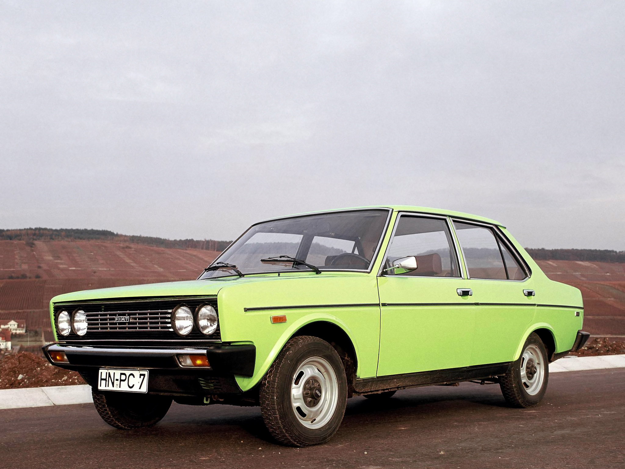 1974 Fiat 131 Mirafiori Special