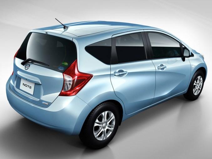 2012 Nissan Note Japan