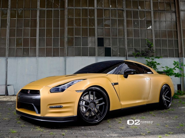 2013 Nissan GT-R d2forged