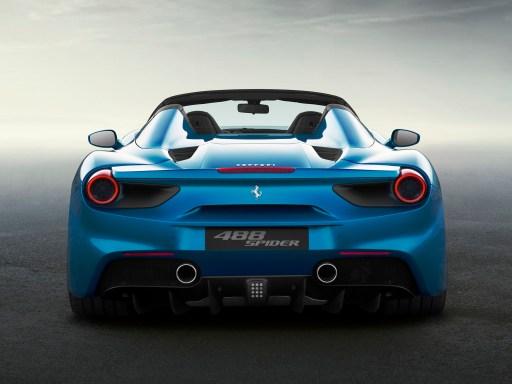 Ferrari 488 Spider 2015