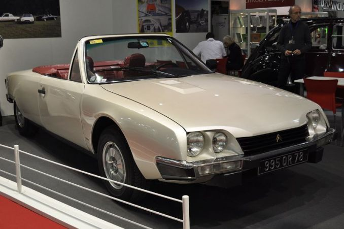 "Citroën CX Cabriolet ""Orphee"" - 1983 - Retromobile 2013"