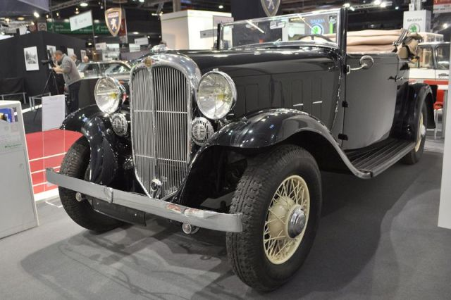 Citroën Rosalie 15A - 1932 - Retromobile 2013