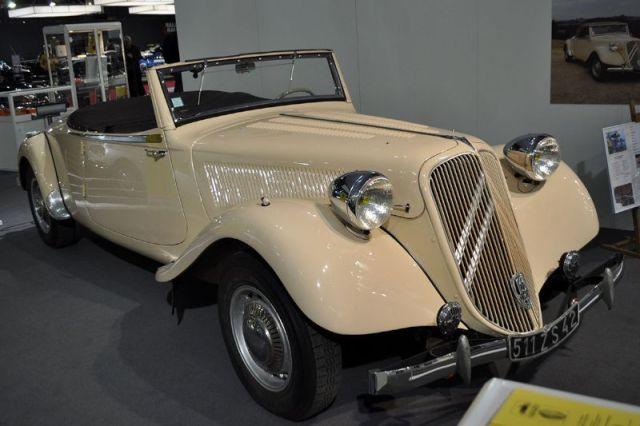Citroën Traction Avant 15-6 Cabriolet - 1939 - Retromobile 2013