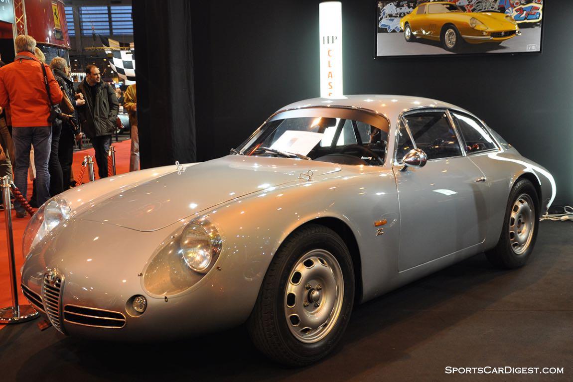 Alfa Romeo Giulietta SZ Coda Tronca by Zagato – 1962 - Retromobile 2015