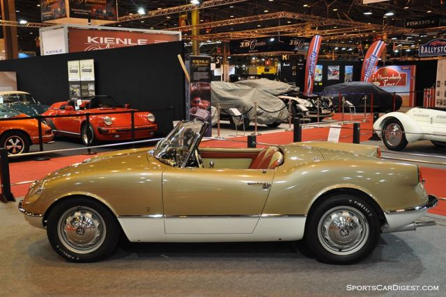 Alfa Romeo Giulietta Spider Bertone - 1955 (Lopresto Collection) - Retromobile 2015