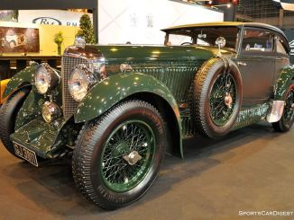 Bentley Speed Six Blue Train - 1929 - Retromobile 2015