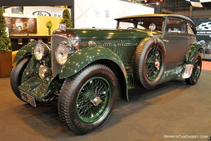 Bentley Speed Six Blue Train - 1929 - Retromobile 2015