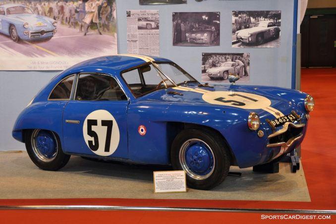 DB Panhard Gignoux – 1952 - Retromobile 2015