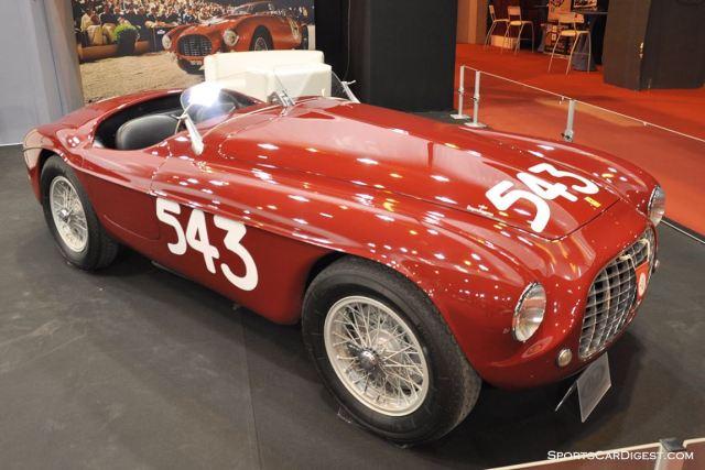 Ferrari 212 Export Barchetta by Touring – 1952 - Retromobile 2015