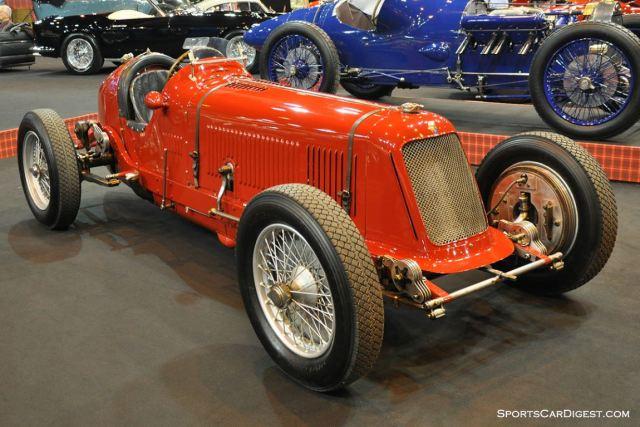Maserati 8CM – 1934 - Retromobile 2015
