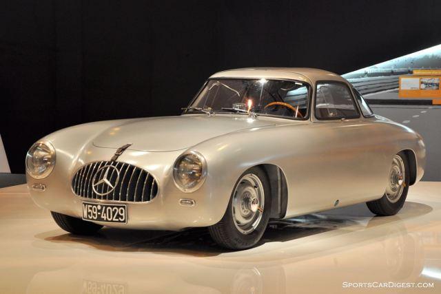 Mercedes-Benz 300 SL – 1953 - Retromobile 2015