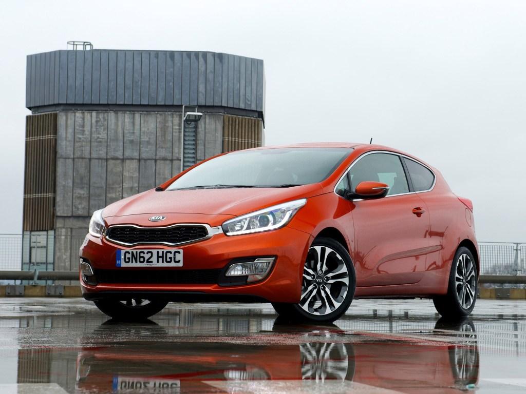 Kia Pro-Ceed Ecodynamics 2013 [Avant] - Photoscar