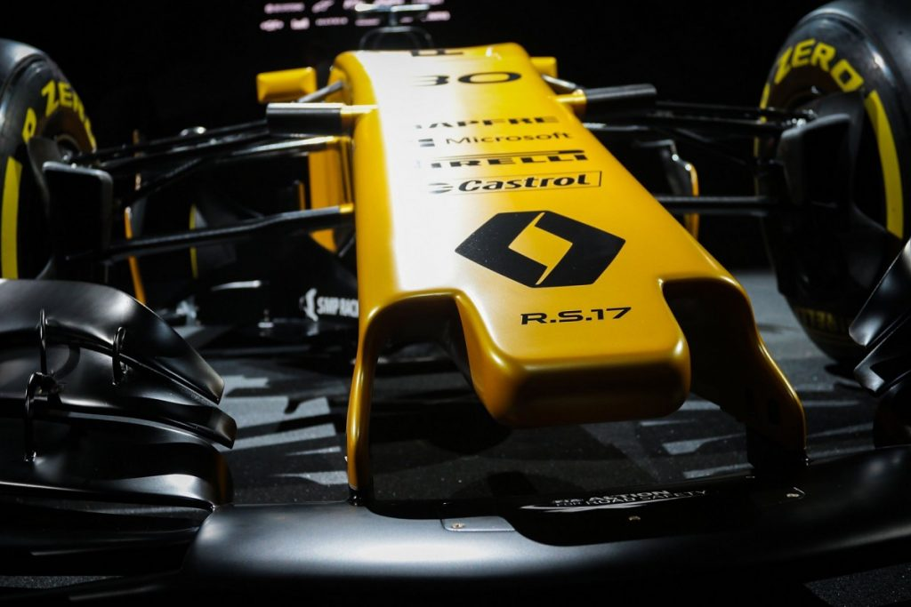 2017 Renault F1 RS17